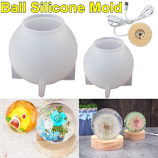 bottlemold, Ball, Night Light, Silicone
