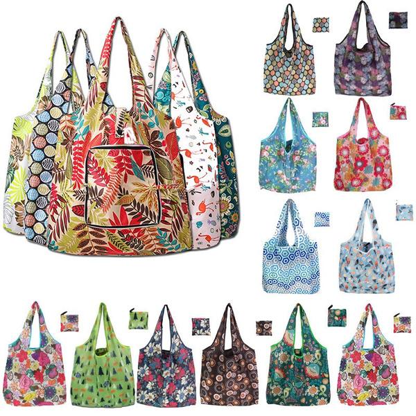 Fashion, foldingshoppingbag, Nylon, Tote Bag