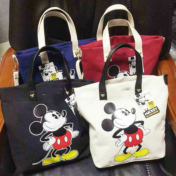 Canvas, Totes, Tote Bag, Mouse