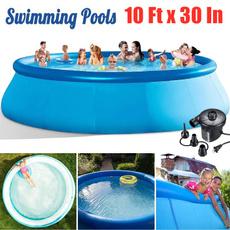 Summer, kidsswimmingpool, Outdoor, Garden