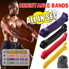 Yoga, Elastic, Fitness, resistanceband