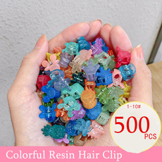 hairclipswomen, Colorful, mickeyhairpin, sideclip