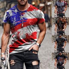 Summer, Printed T Shirts, Man Shirts, Sleeve