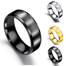 Steel, men_rings, Men, titaniumsteelringsformen