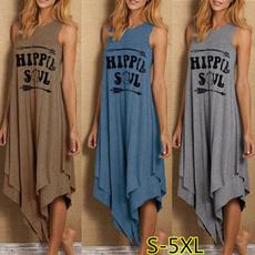 Summer, plus size hippie dresses, summer dress, long dress