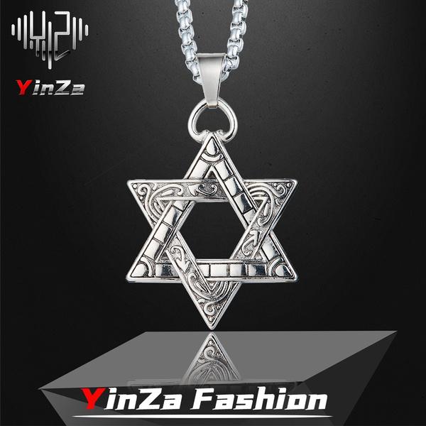 menssixpointedstar, hip hop jewelry, Star, Jewelry
