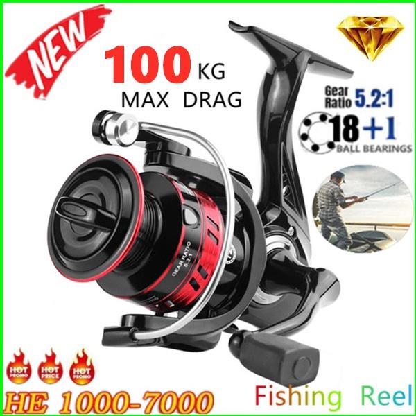 spinningreel, gearratio, Metal, fish