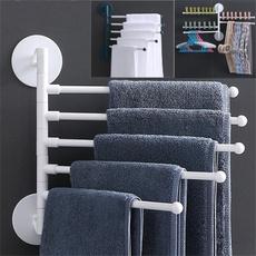 storagerack, Bathroom, Hangers, Towels