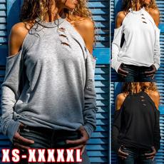 Round neck, Plus Size, off the shoulder top, Necks