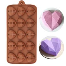 Heart, DIAMOND, Baking, chocolatemould