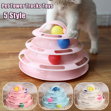 cattoy, Toy, threelevelspetcattoy, towertrack