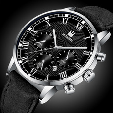 Chronograph, Steel, Stainless, business watch