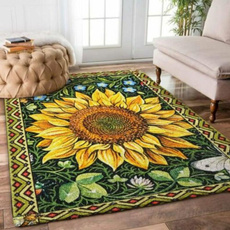 Flowers, Mats, Sun, regtangle