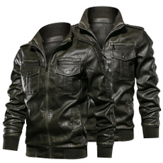 motorcyclejacket, PU, tailgood, Coat