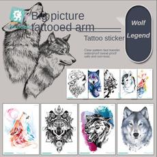 tattoo, photograph, Flowers, watertight