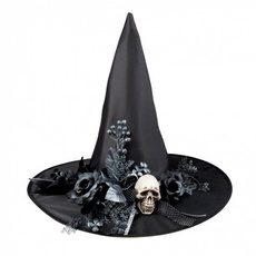 Hats, Polyester, Fashion, Witch