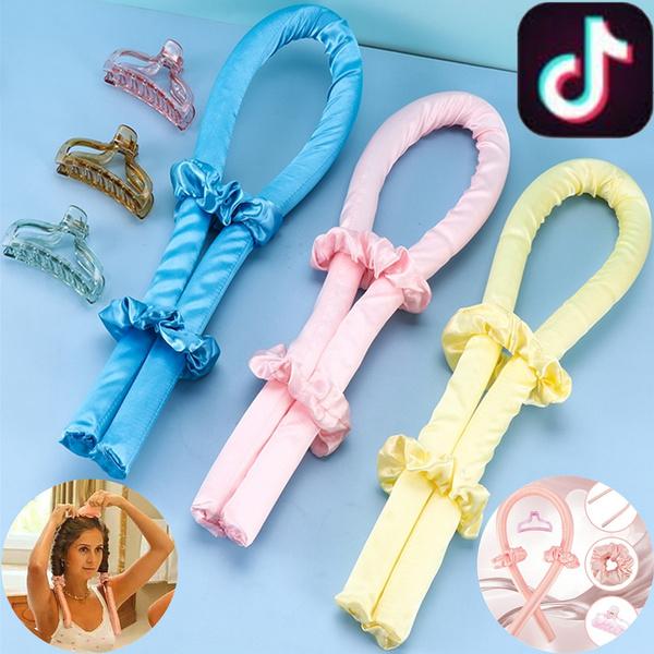 Hair Curlers, sleepingcurlingiron, silk, Hair Rollers