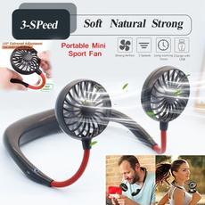 neckbandfan, Mini, wearablefan, portablefan