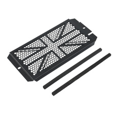 motorcycleaccessorie, radiatorcoverfortriumphthruxton1200, radiatorguardfortriumph, motorcycleradiatorguard