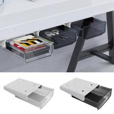 Box, underdeskshelf, selfadhesive, Storage