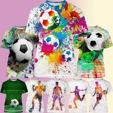Summer, summer t-shirts, Tops, Football