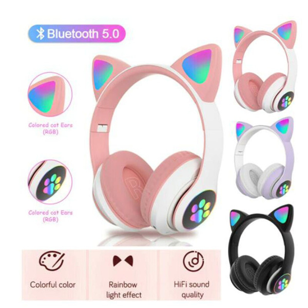 Headset, Stereo, led, Gifts
