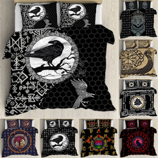 tattoo, doublebedding, quiltcover, Sheets & Pillowcases