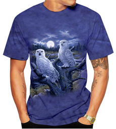 mensummertshirt, cute, Cotton Shirt, loose shirt