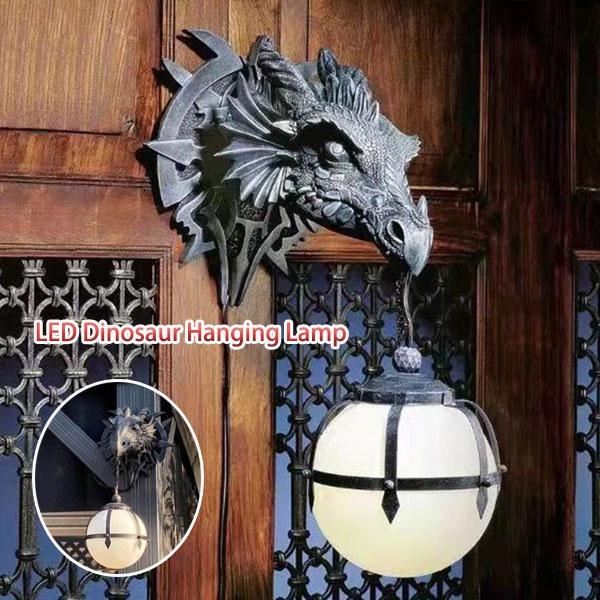 hanginglight, Head, led, dragonhead