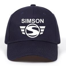 simson, Adjustable Baseball Cap, snapback cap, Apparel & Accessories