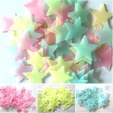 beautifulwallsticker, Glow, glowingstar, bedroom
