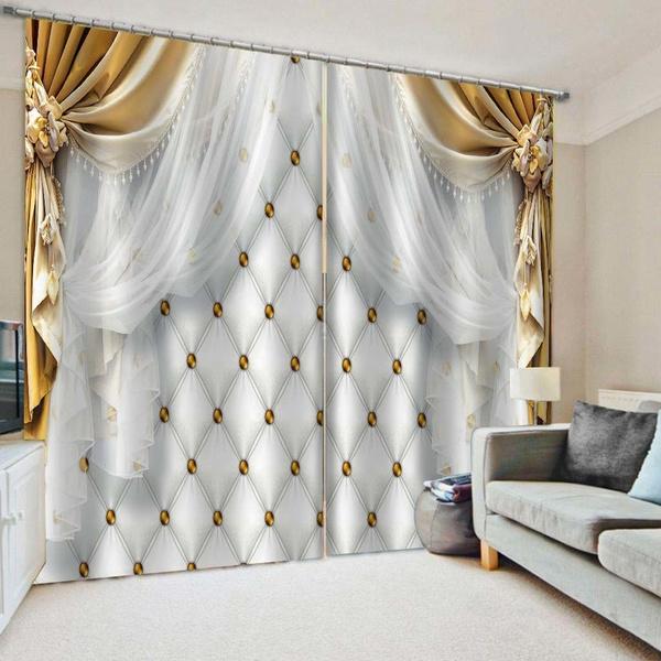 luxurycurtain, Fashion, vorhangwohnzimmer, Home Decor