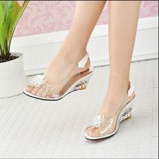 wedge, Plus Size, jellysandal, dress shoes
