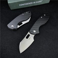 Copper, pocketknife, Outdoor, charcoalfiberknife