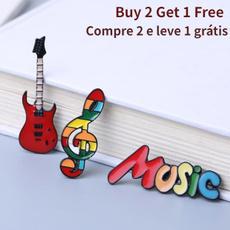 musicnotebrooch, studentsgiftsprize, Pins, Get