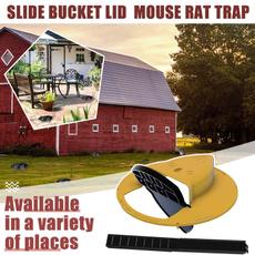 mousebucketdevice, outdoorrattrap, deconmousetrap, mousesnaptrap