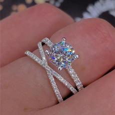 Heart, DIAMOND, wedding ring, Gifts