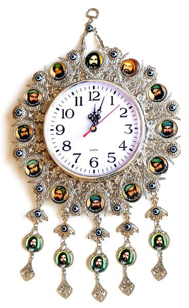 nickel, Jewelry, silver, Clock