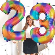 decorationanniversaire, parafiesta, rainbow, Balloon