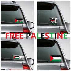 Car Sticker, palestineflag, Cars, freepalestine