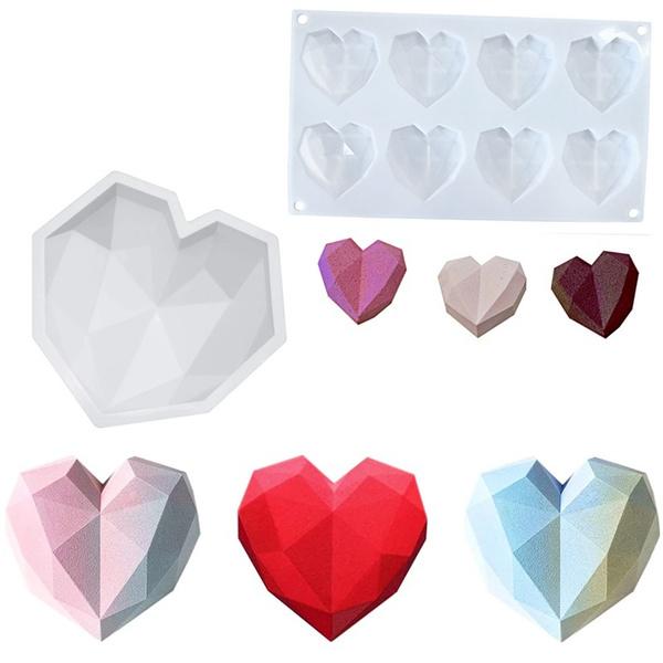 Heart, DIAMOND, Love, siliconemould