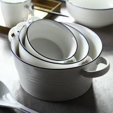 Cereal, ceramicbowl, Dessert, Porcelain