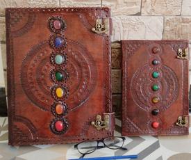 vintagejournal, spellnotebook, Medieval, leathernotebook