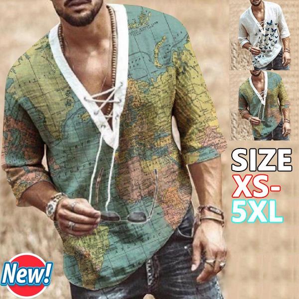 Summer, Plus Size, Shirt, vikingstyle