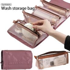foldingmakeupbag, detachablecosmeticbag, Makeup bag, Beauty