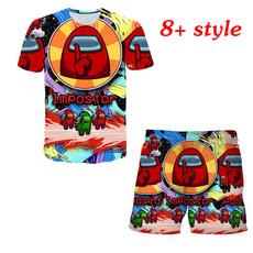 kidssummertshirt, Summer, Funny T Shirt, amongusshirt