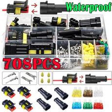Connector, Pins, Waterproof, waterproofconnectorplug