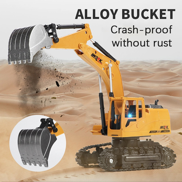 Toy, Remote Controls, excavator, diggingmachine