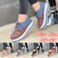 casual shoes, wedge, Sneakers, Fashion