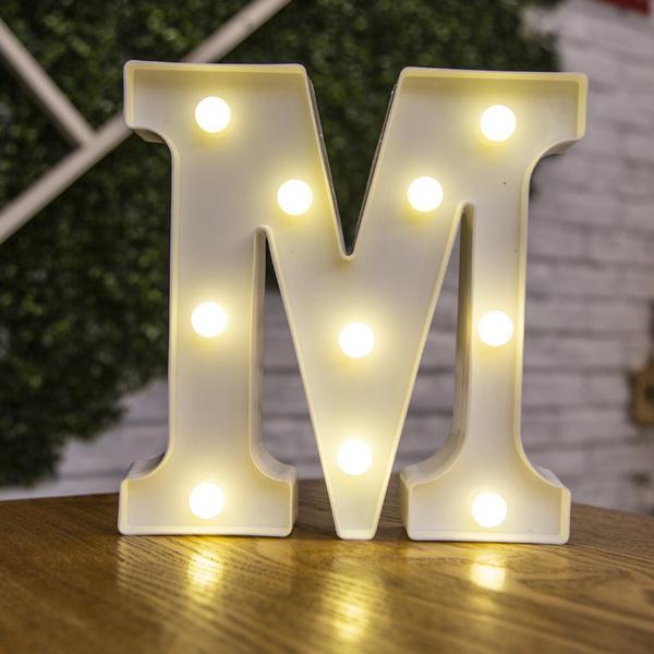 digitallight, alphabetlight, lights, ledweddinglight